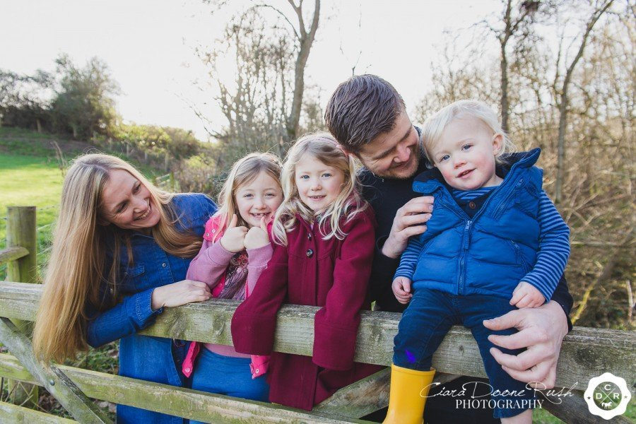 Claire & Ian's Engagement/Family Session