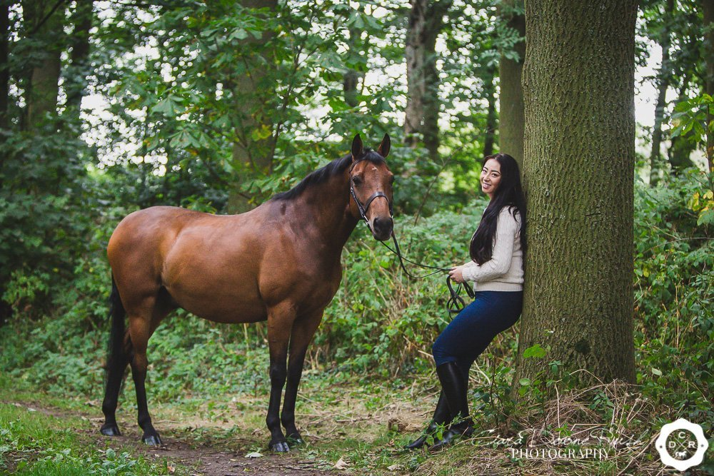 a remember me equine photo shoot
