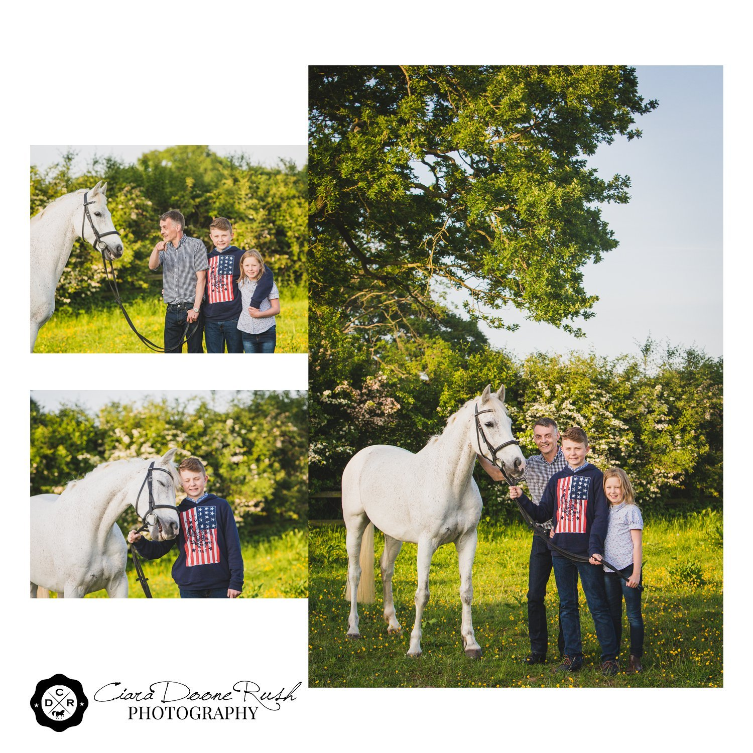 How to handle a tricky horse on a photo shoot