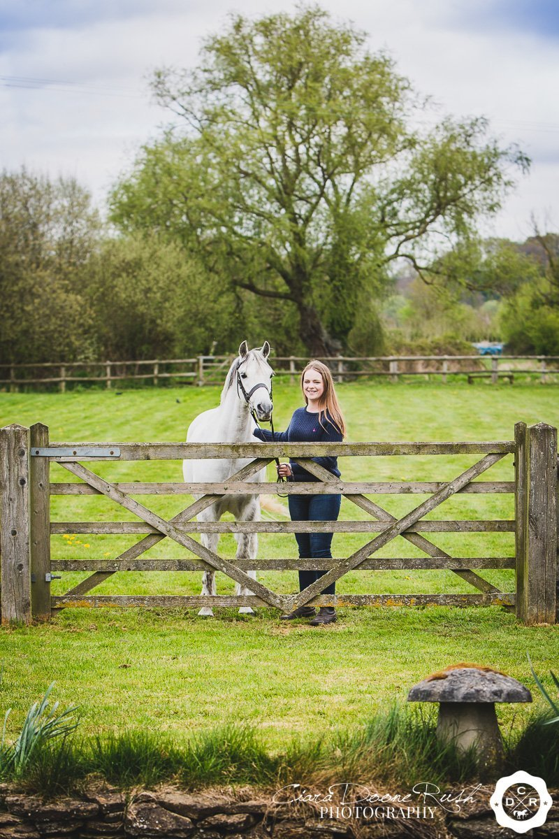 a horse and rider photo shoot in wiltshire