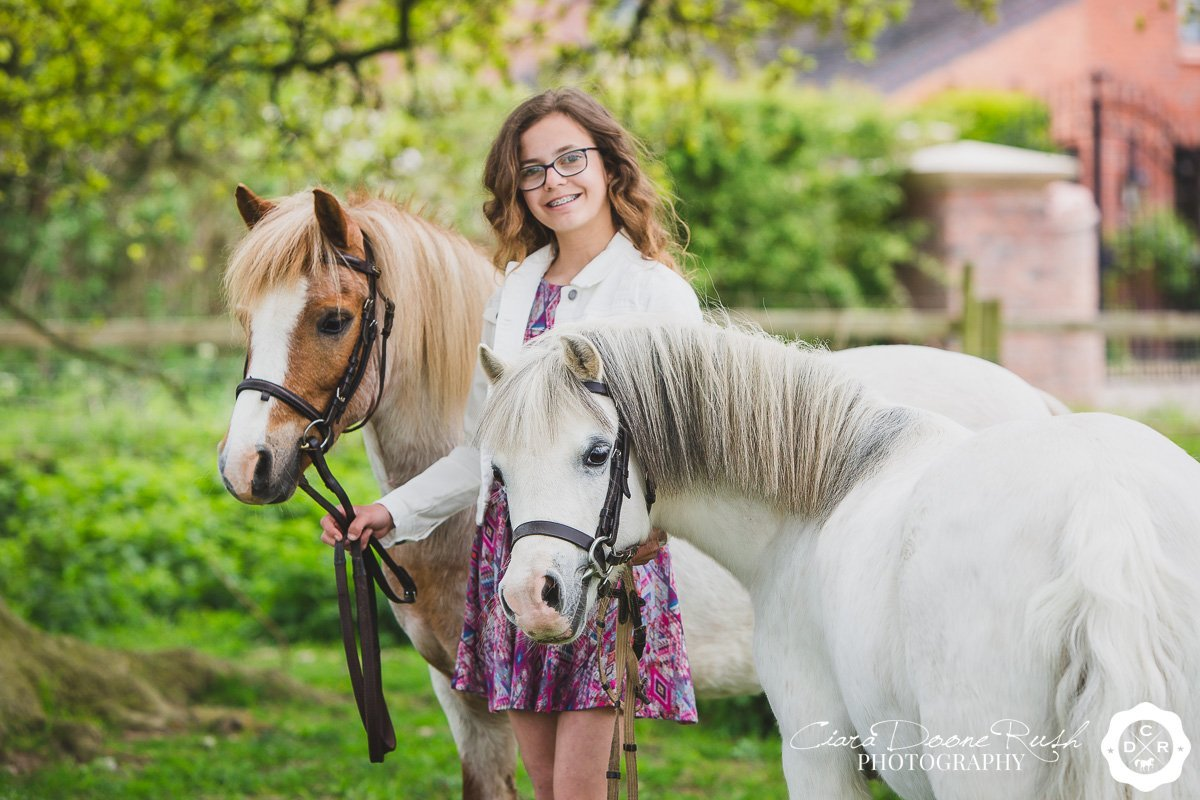 Liberty with Friar & Casi // A Horse & Rider Photo Shoot // May 2017