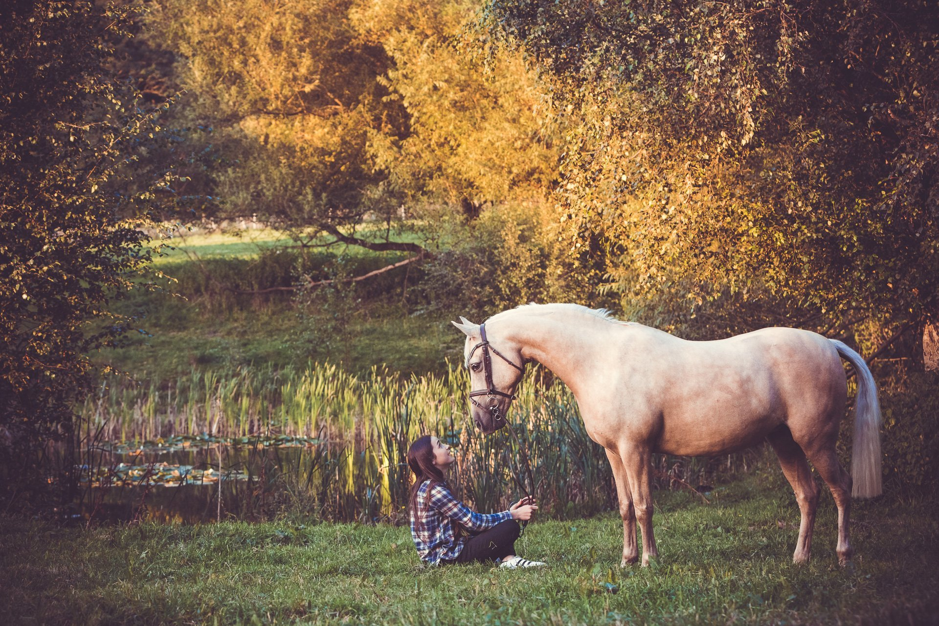 Scarlett's Horse & Rider Photo Shoot