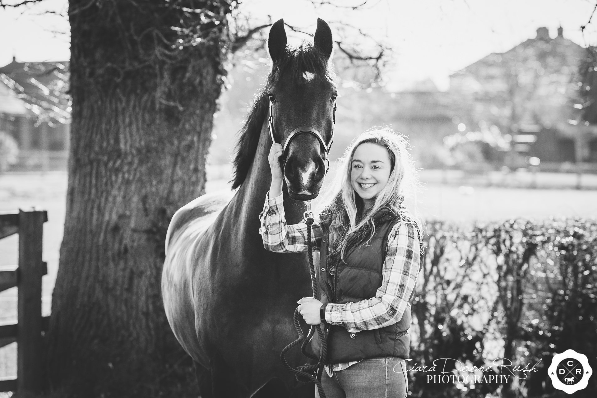 Chloe's Horse & Rider Photo Shoot with Rum & Ted