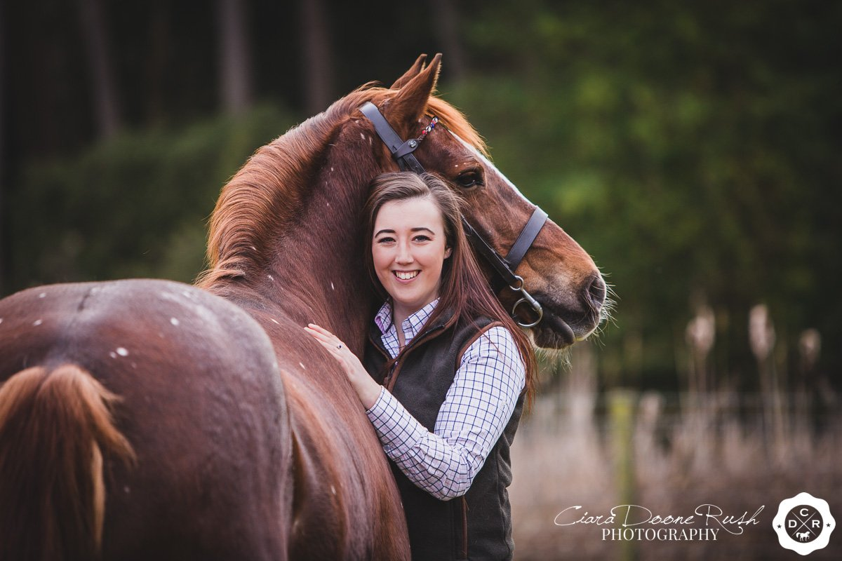Abbey & April's Horse & Rider Photo Shoot // March 2018
