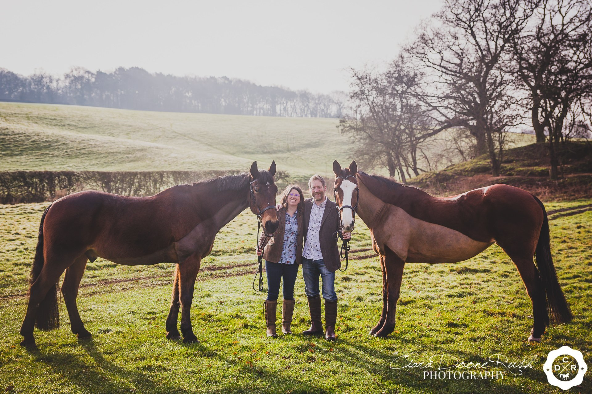 A Couple & Horses Photo Shoot // Sam & Brent // February 2019