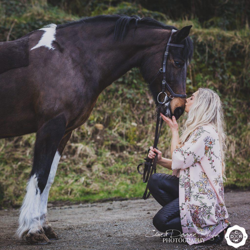 A Horse And Rider Photo Shoot Ireland