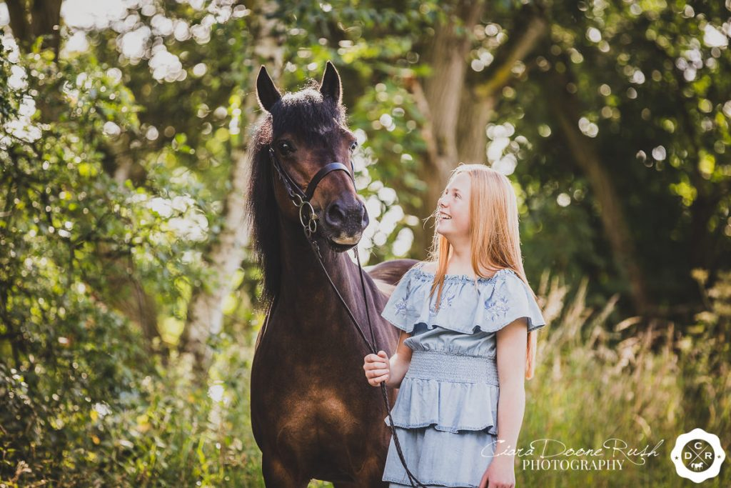 A Horse And Rider Photo Shoot