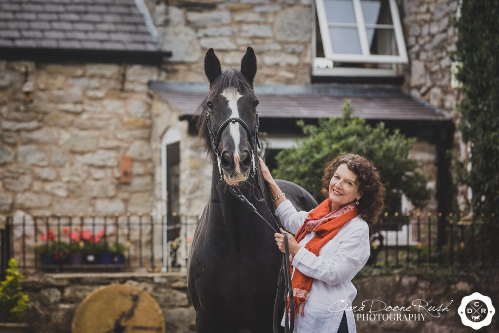 A Horse And Rider Photo Shoot in North Wales