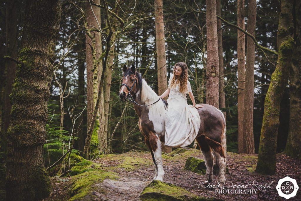 Horse photo shoot Delamere Forest
