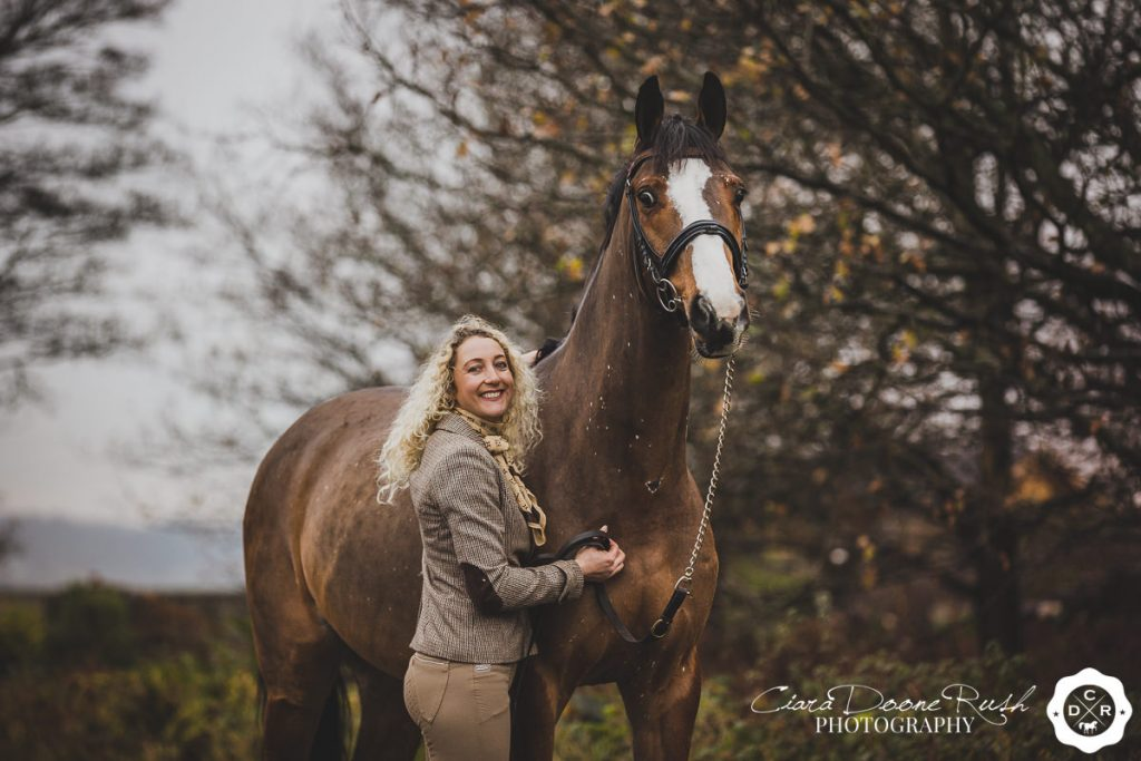 Cheshire horse and rider photo shoot