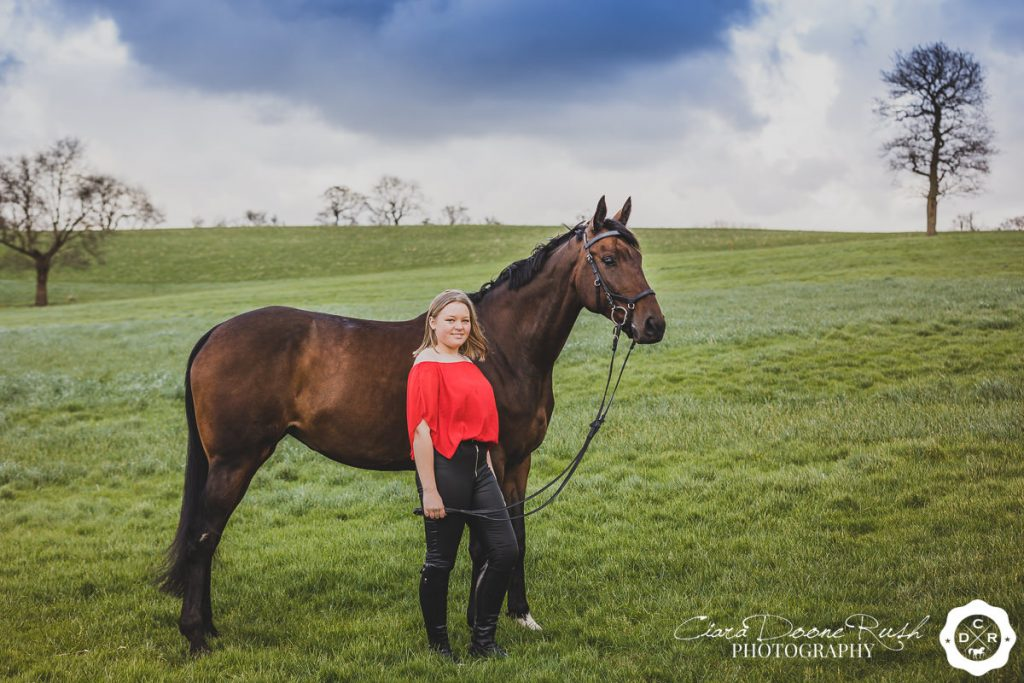 A Horse And Rider Photo Shoot in Lancashire
