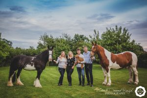 A Family and animals photo shoot in Cheshire