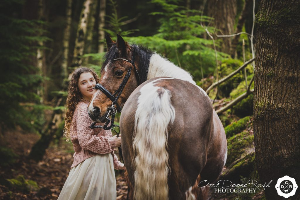 horse and rider photo shoot Delamere forest